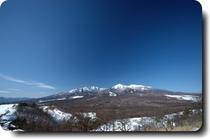 冬の八ヶ岳連峰