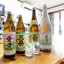 屋久島の地酒です。是非ご賞味ください。