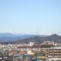 風景 天気が良ければ富士山も
