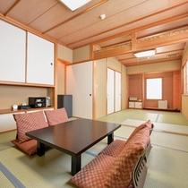 *和室14畳(客室一例)/ご家族やグループでのご宿泊に◎皆様で愉しい休日をお過ごしください。