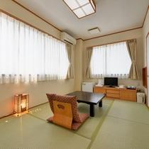 *和室6畳(客室一例)/心落ち着く純和風のお部屋。ごゆっくりお寛ぎ下さい。