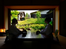 限定3室の和室(春~秋)