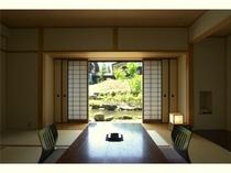 限定3部屋の和室(春~秋)