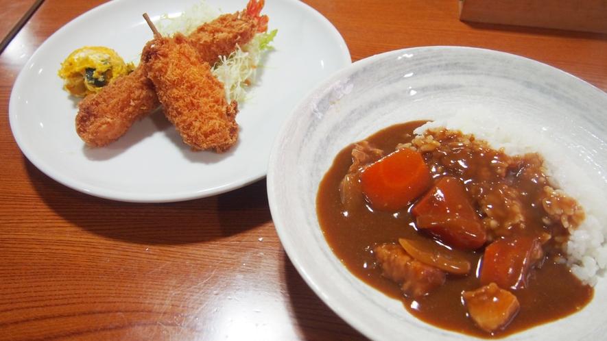 夕食(カレーライス)
