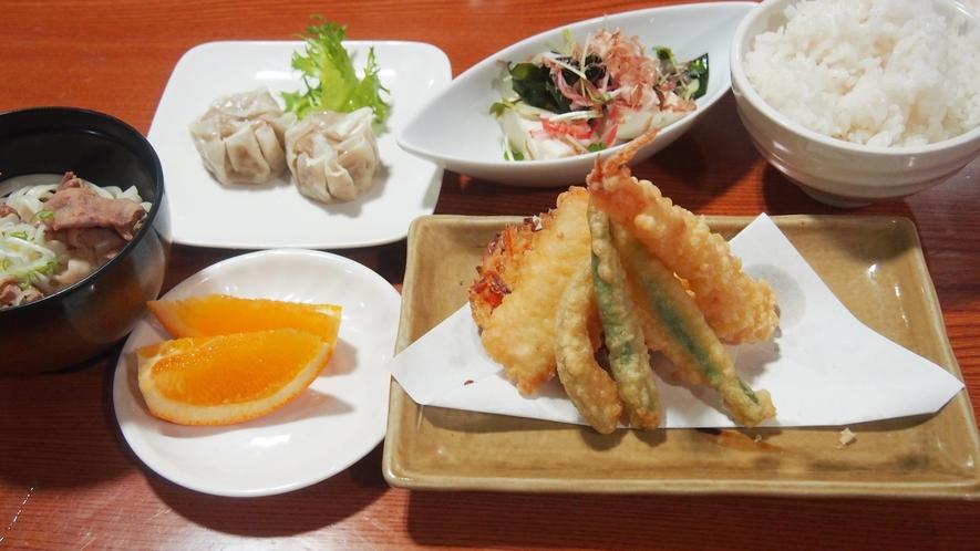 夕食(天ぷら)