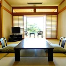 *【和風館】内風呂付和室10畳(又は12畳)  庭園を眺めてのんびりお寛ぎいただけます