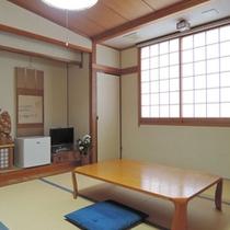 *【本館】和室8畳  リーズナブルなアウトバスのお部屋。お風呂は温泉をご利用下さい