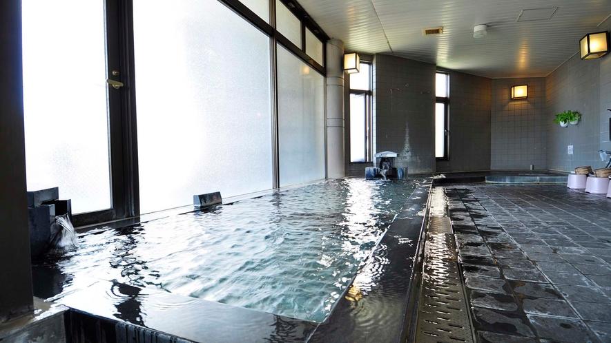 ・【大浴場】とろっとろの泉質が特徴の美肌の湯です
