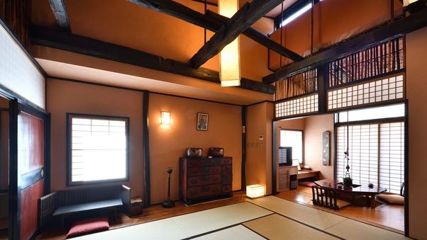 ■お部屋から滝が望めるせせらぎ館■永井宿(露天風呂付客室)