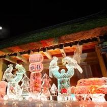 氷の祭典 氷の彫刻