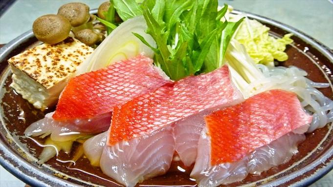 【楽天限定】金目鯛のすき焼き&鮑のお造りプラン
