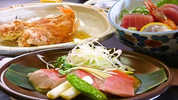 【秋冬旅セール】金目鯛の鯛味噌焼き&鮑の踊り焼プラン
