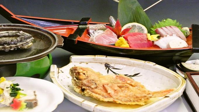 【★鴨川元気キャンペーン★】鮑の踊り焼&金目鯛の煮付け付き!人気定番プラン