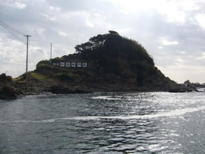名勝仁右衛門島(港)