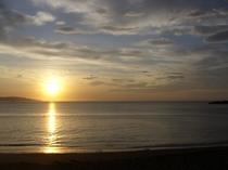明方の太海の日の出1