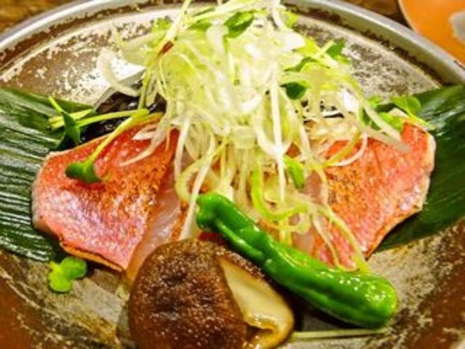 金目鯛の鯛味噌焼き