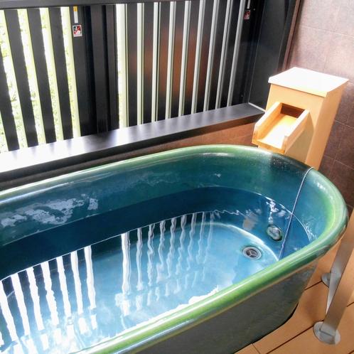 露天風呂/ゆっくりとおくつろぎください。