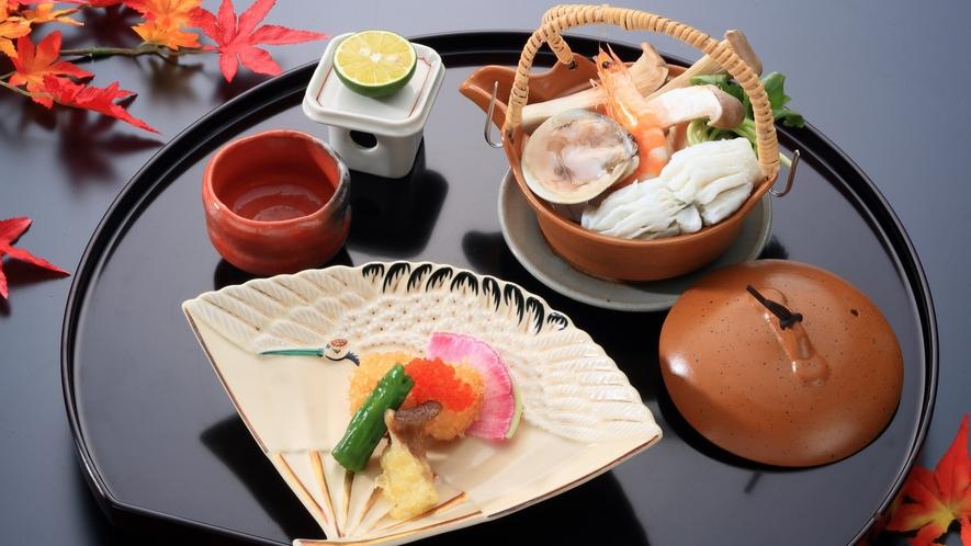 前菜/松茸の土瓶蒸し(松茸彩々プラン2021)