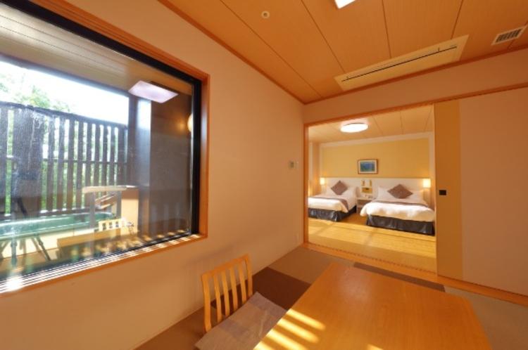 露天風呂付特別和洋室(和室一例)