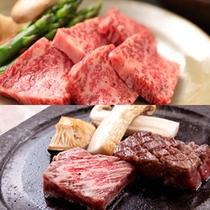能登牛の石焼ステーキプラン