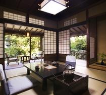 梅鉢の客室