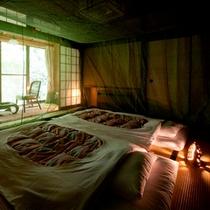 【夏限定】日本の懐かしい夏!蚊帳のお部屋プラン