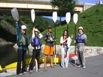 カヌー体験6(楽しかったね♪)