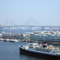横浜港の景色