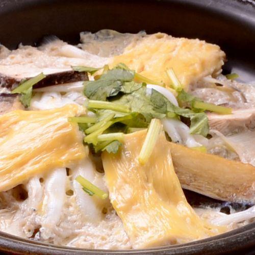 特製修善寺湯葉鍋