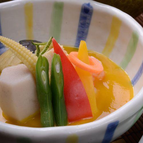 夏野菜冷やし鉢