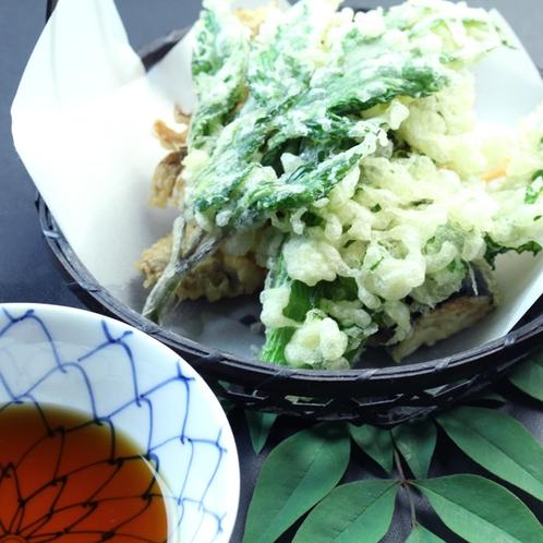 料理一例☆山菜の天ぷら