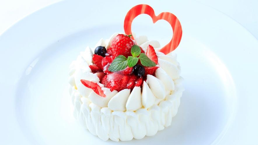 大切な日にケーキもご用意いたします ※事前ご予約制 ※イメージ