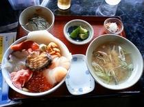 岩屋 漁師丼定食
