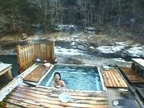 奥薬研温泉 隠れカッパの湯