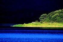 朝の宇曾利湖