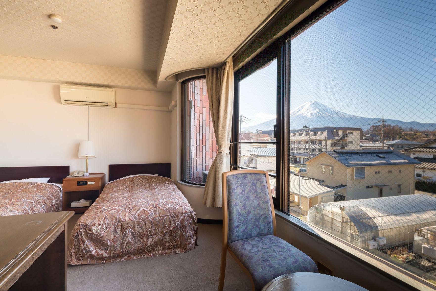 富士山側のお部屋