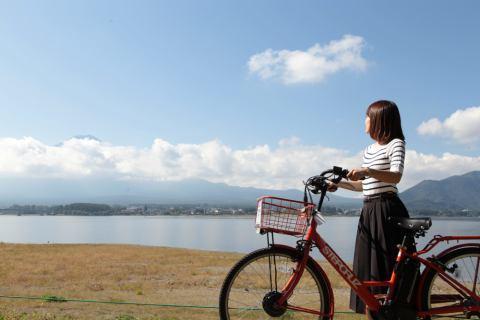 自転車と泊まれる宿