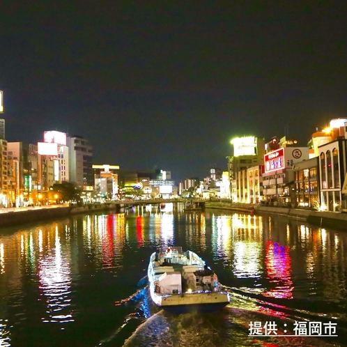 ◎中洲の夜景(那珂川)◎