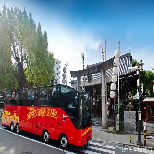 ◎福岡の観光にオープントップバスという選択◎