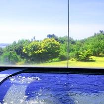 【お風呂からの景観】美肌効果や皮膚病の緩和効果あり!さらに景観も最高♪