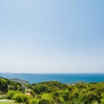 【景観】美しい青と緑のコントラストに癒されます