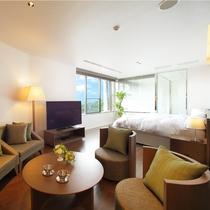 【スイートルーム】ホテル最上階にスイートルームがオープン。ゆとりある空間で贅沢なひと時を★