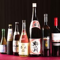 【アルコール類一例】各種揃えております。