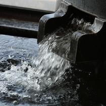 【あぐりの湯】ツルツルとした独特の肌触りが特徴の軟水風呂