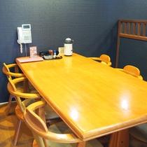 ◆食事処◆テーブル席