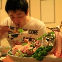 夕食シーン2