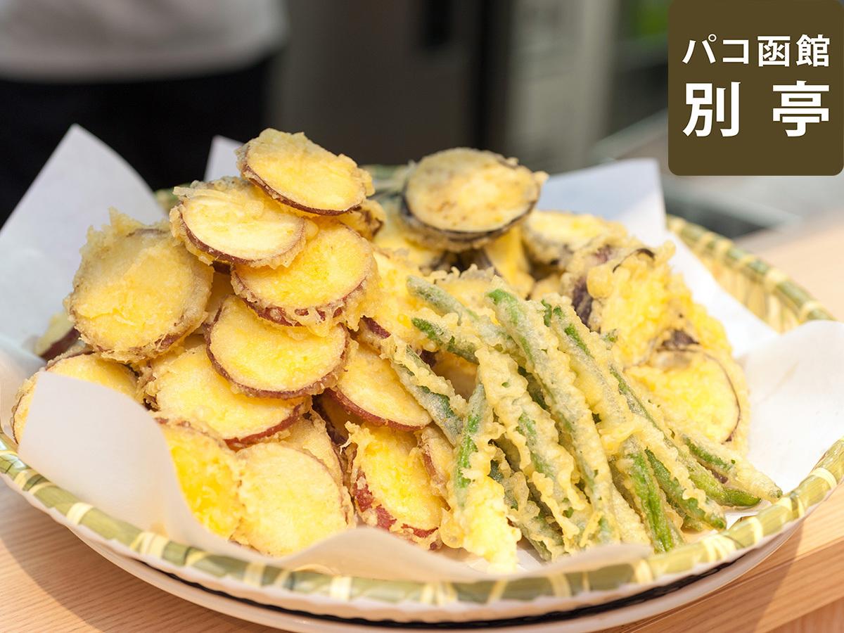 【別亭:板前料理 旬】新鮮な食材と料理人の技がさえる天ぷら