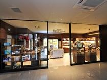 1階売店 ソフトドリンク、お菓子やアイスなど販売(6時~26時)