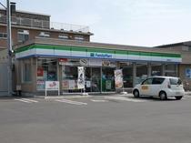 【買物】ファミリーマート函館東雲店。当館から徒歩5分くらい