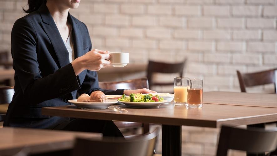 【朝食】朝から元気をチャージ♪